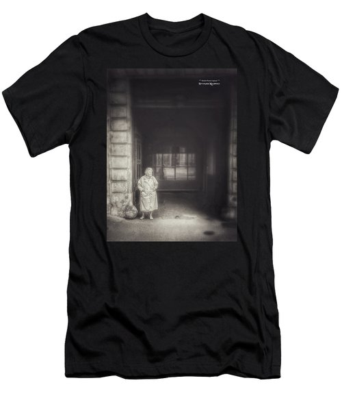 Men's T-Shirt (Athletic Fit) featuring the photograph A Long Boring Wait... by Stwayne Keubrick