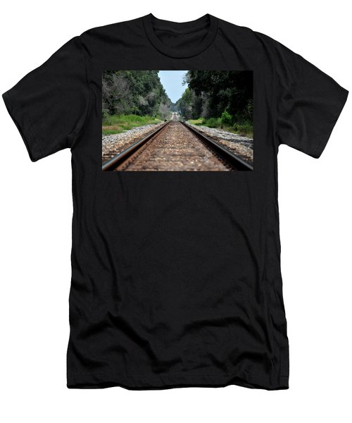A Long Way Home Men's T-Shirt (Slim Fit) by John Black