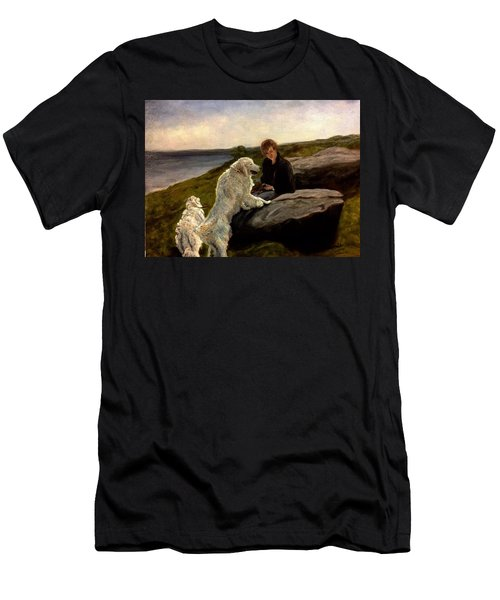 A Moment Of Repose With The Magnificent Dogs Men's T-Shirt (Athletic Fit)