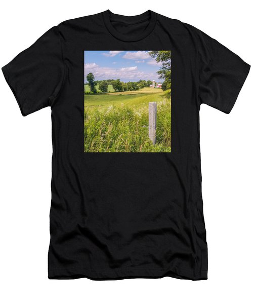 Men's T-Shirt (Athletic Fit) featuring the photograph A Nation's Bread Basket  by Garvin Hunter