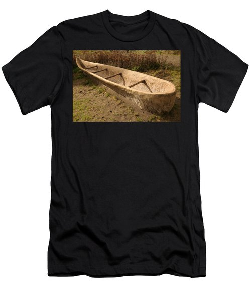 A Native American Fishing Boat Men's T-Shirt (Athletic Fit)