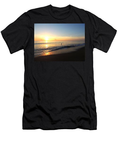 A New Day Begins Men's T-Shirt (Athletic Fit)