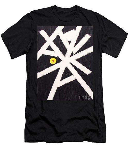 A Path Less Taken Men's T-Shirt (Slim Fit) by Roberto Prusso