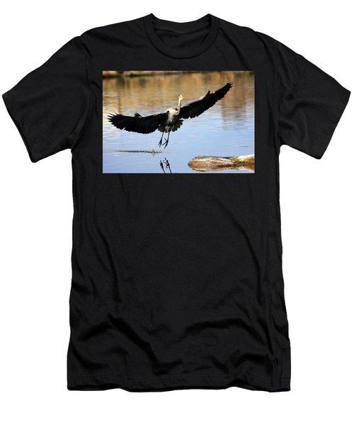 A Perfect Landing Men's T-Shirt (Athletic Fit)