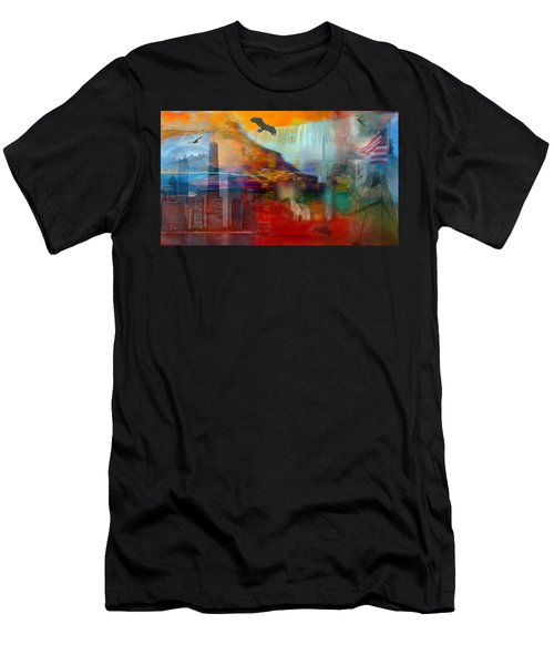 A Piece Of America Men's T-Shirt (Athletic Fit)