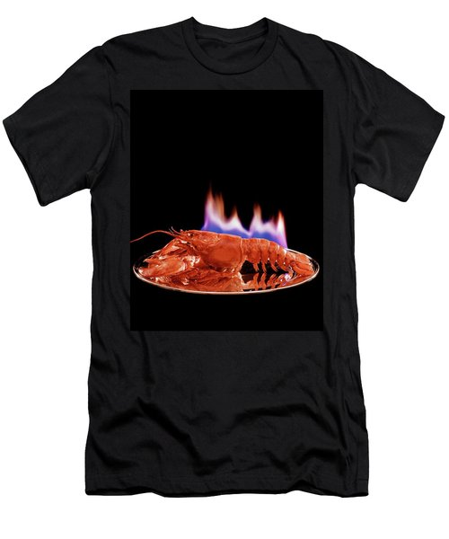 A Plate Of Lobster Flambe Men's T-Shirt (Athletic Fit)