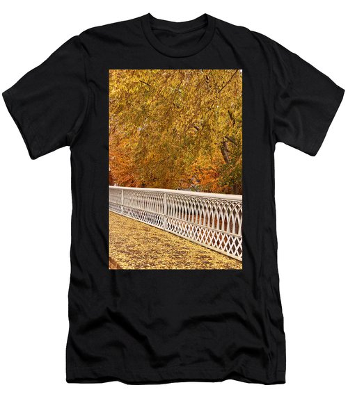 A Quiet Day On The Riverwalk Men's T-Shirt (Athletic Fit)