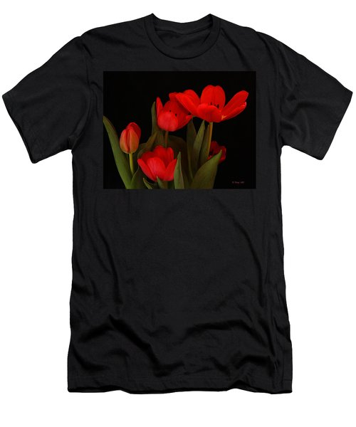 A Red Tulip Day Men's T-Shirt (Athletic Fit)