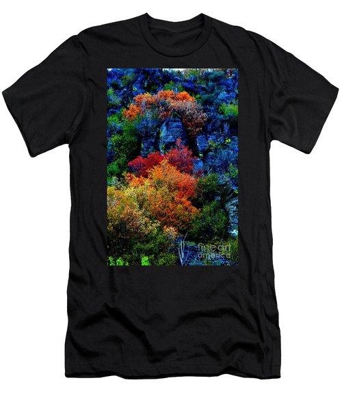 A Riot Of Color Men's T-Shirt (Athletic Fit)