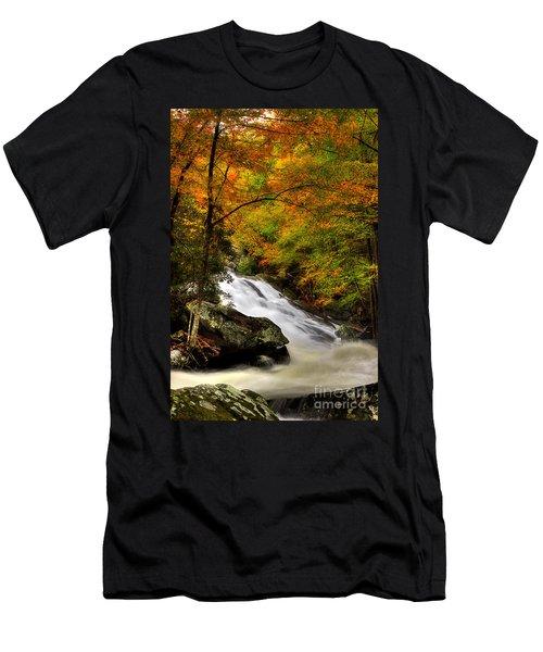 A River Runs Through It Men's T-Shirt (Slim Fit) by Michael Eingle