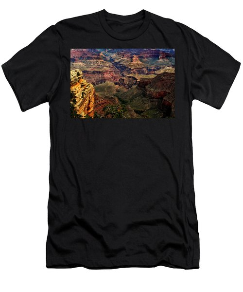 A River Runs Through It-the Grand Canyon Men's T-Shirt (Athletic Fit)