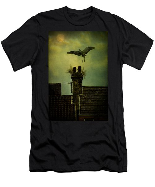 Men's T-Shirt (Slim Fit) featuring the photograph A Room For The Night by Chris Lord