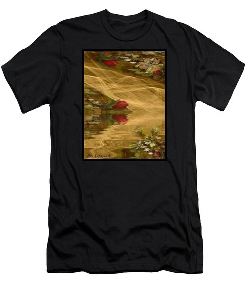 A Rose Bud Stream Men's T-Shirt (Athletic Fit)
