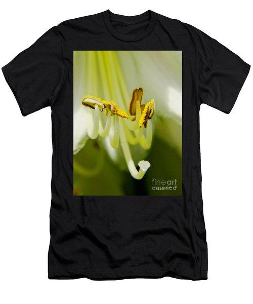 A Single Flower In Full Bloom Men's T-Shirt (Athletic Fit)