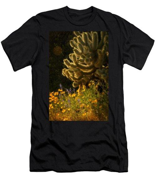 A Southwestern Spring  Men's T-Shirt (Athletic Fit)