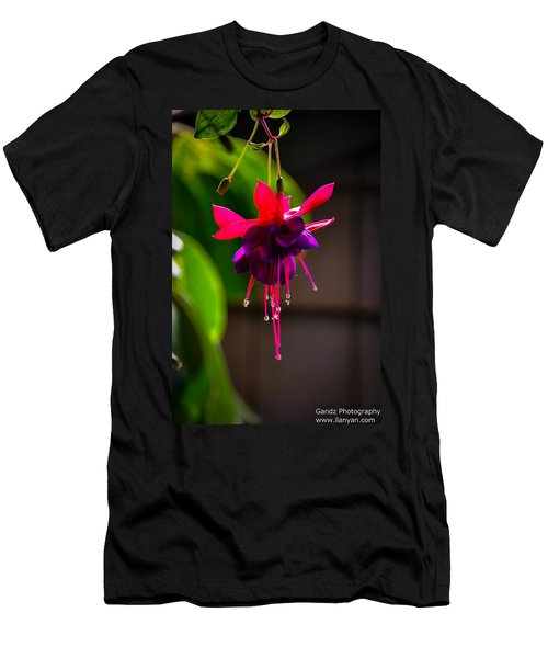 A Special Red Flower  Men's T-Shirt (Athletic Fit)