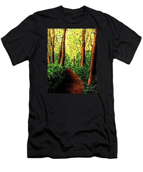 A Spiritual Awakening Men's T-Shirt (Slim Fit) by Hazel Holland