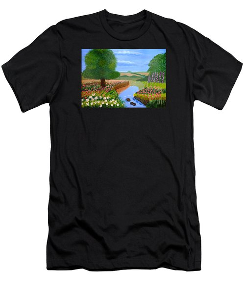 A Spring Stream Men's T-Shirt (Athletic Fit)