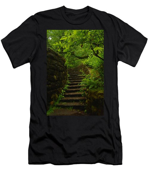 A Stairway To The Green Men's T-Shirt (Athletic Fit)
