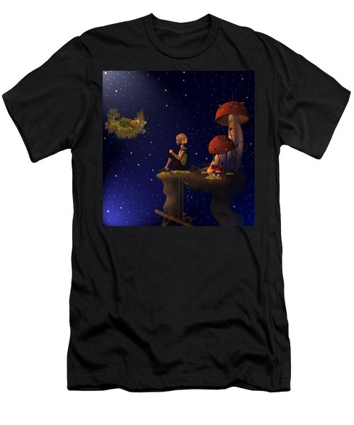 A Starry Starry Night Men's T-Shirt (Athletic Fit)