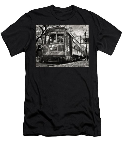 A Streetcar Named St Charles Men's T-Shirt (Athletic Fit)