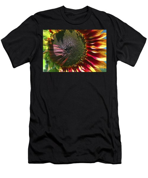 A Sunflower For The Birds Men's T-Shirt (Athletic Fit)
