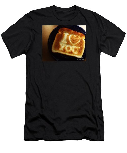 A Toast To My Love Men's T-Shirt (Slim Fit) by Kristine Nora