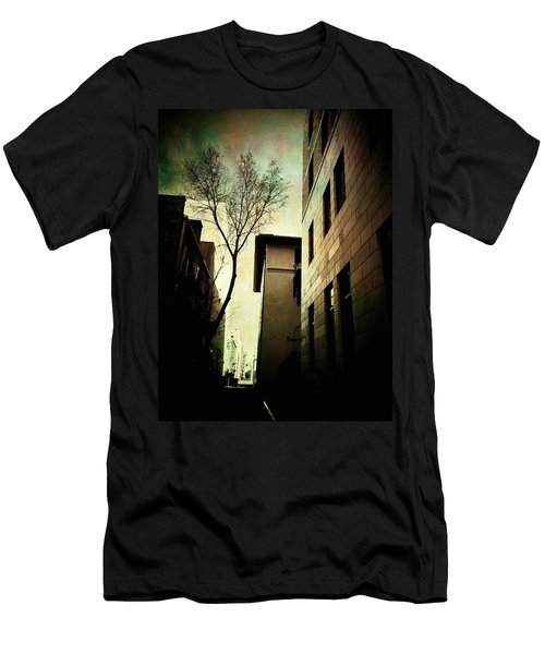 A Tree Grows In Albuquerque Men's T-Shirt (Slim Fit) by Mark David Gerson