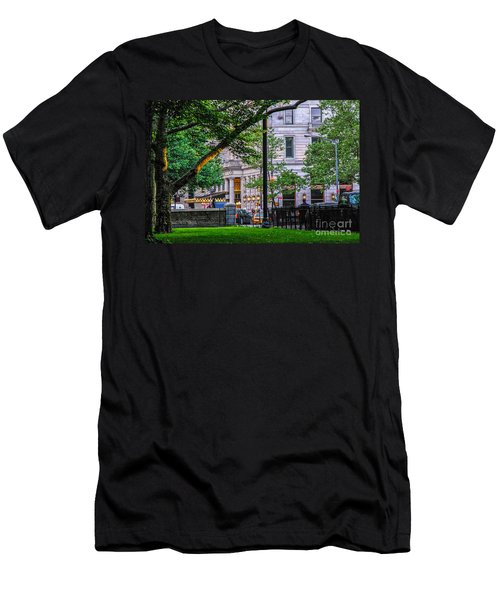A View From Central Park Men's T-Shirt (Athletic Fit)