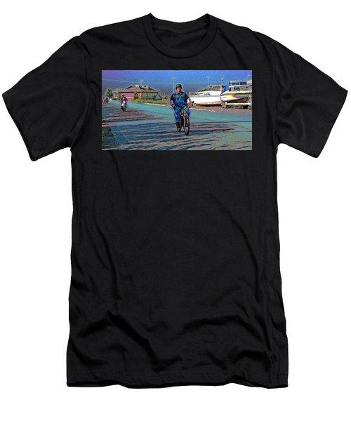 A Vintage Whizz Leading Men's T-Shirt (Athletic Fit)