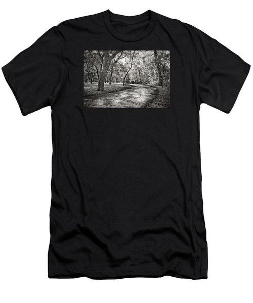 A Walk In The Park Men's T-Shirt (Slim Fit) by Darryl Dalton