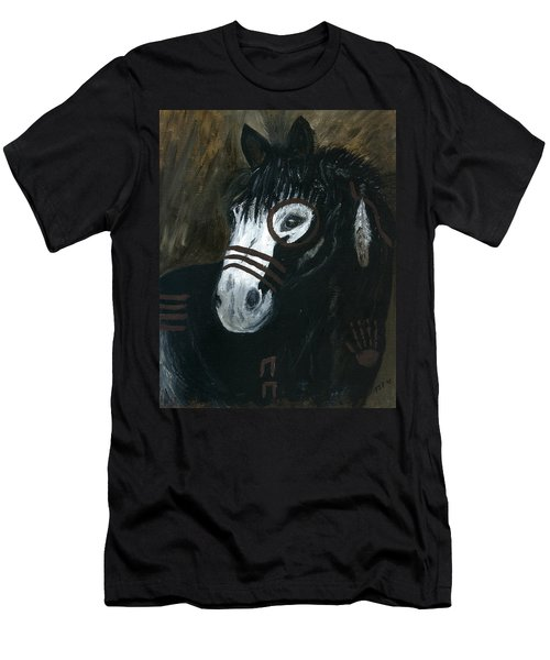 A War Pony Men's T-Shirt (Slim Fit) by Barbie Batson