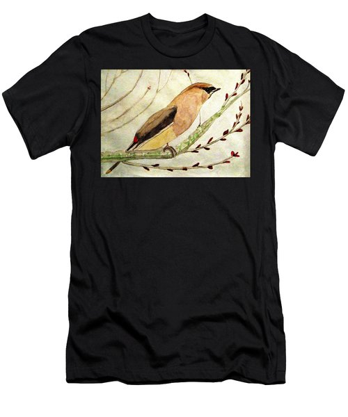 A Waxwing In The Orchard Men's T-Shirt (Athletic Fit)
