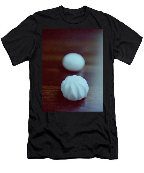 A White Mushroom Men's T-Shirt (Athletic Fit)
