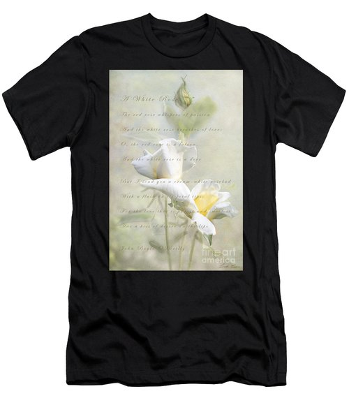 A White Rose Men's T-Shirt (Athletic Fit)