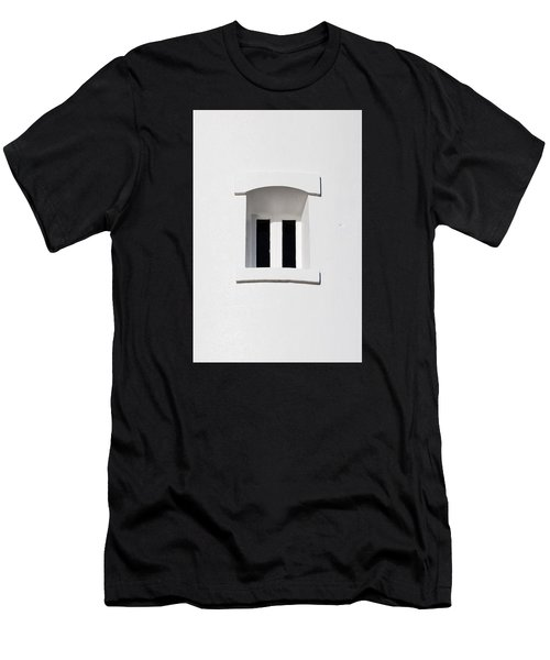A Window In White Men's T-Shirt (Athletic Fit)