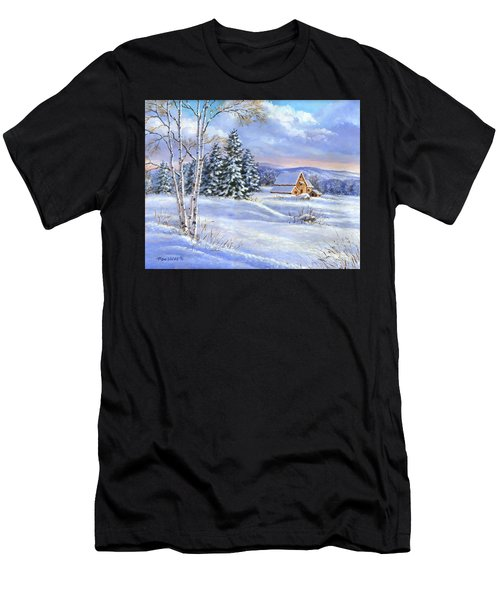 A Winter Afternoon Men's T-Shirt (Athletic Fit)