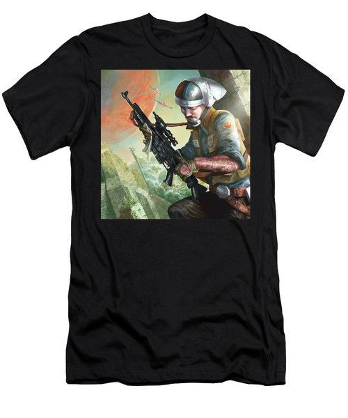 A280 Blaster Rifle  Men's T-Shirt (Athletic Fit)