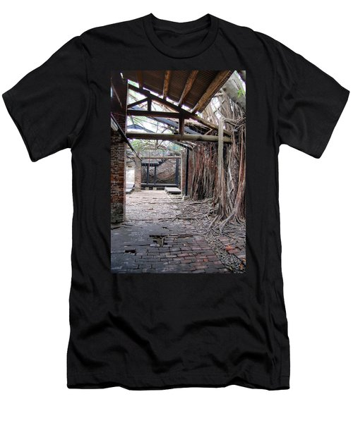 Abandon Warehouse  Men's T-Shirt (Athletic Fit)