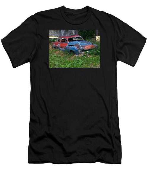 Abandoned 1950 Mercury Monteray Buick Men's T-Shirt (Athletic Fit)
