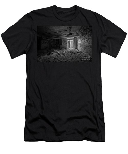 Abandoned Bw Men's T-Shirt (Athletic Fit)