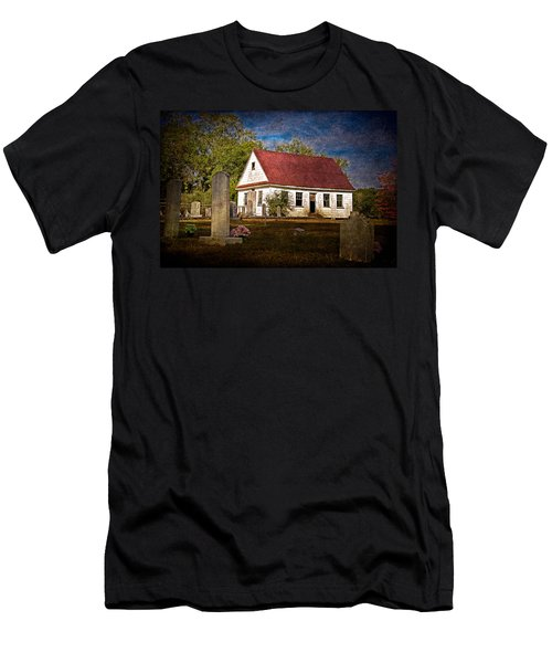 Abandoned Church And Graves Men's T-Shirt (Athletic Fit)