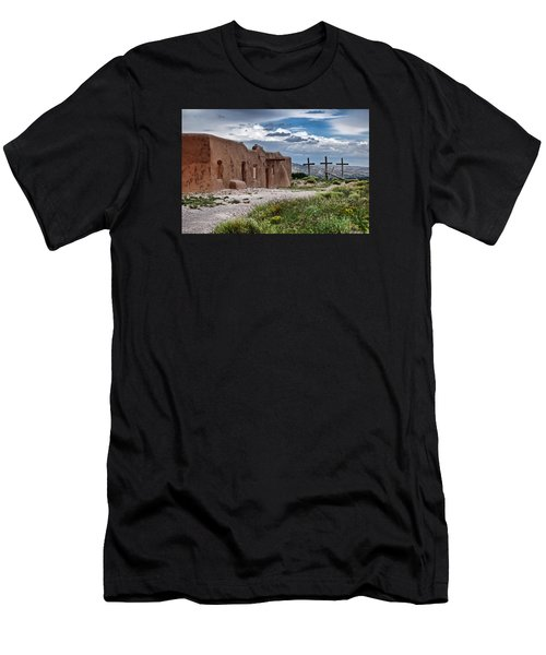 Abandoned Church In Abiquiu New Mexico Men's T-Shirt (Athletic Fit)