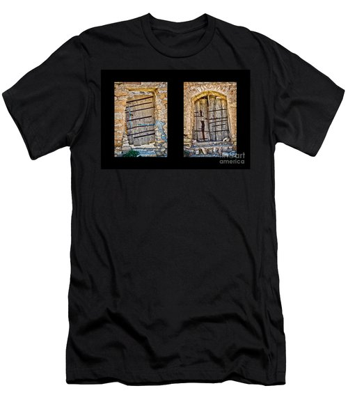 Abandoned Diptych Men's T-Shirt (Athletic Fit)