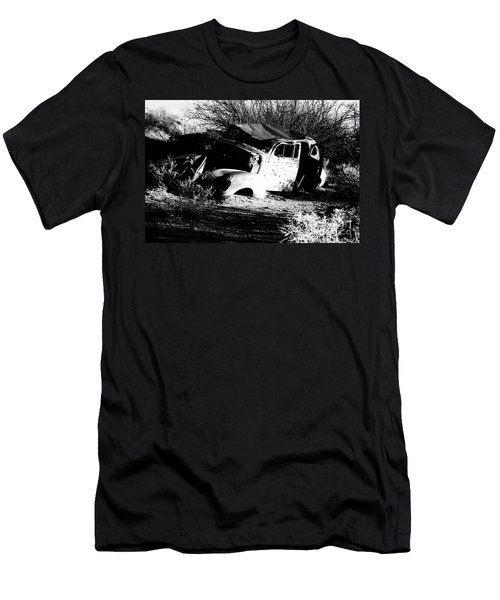 Men's T-Shirt (Slim Fit) featuring the photograph Abandoned by Jessica Shelton