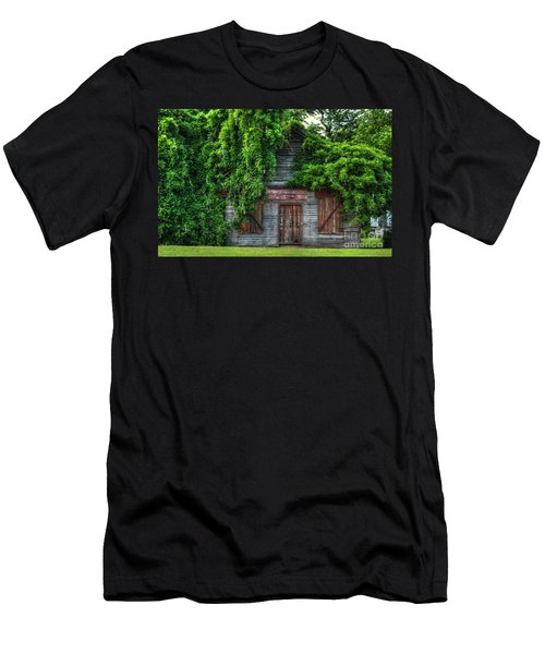 Men's T-Shirt (Slim Fit) featuring the photograph Abandoned by Kathy Baccari