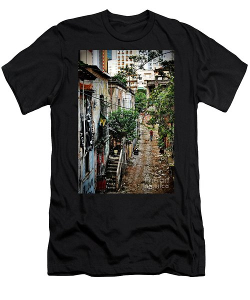 Abandoned Place In Sao Paulo Men's T-Shirt (Athletic Fit)