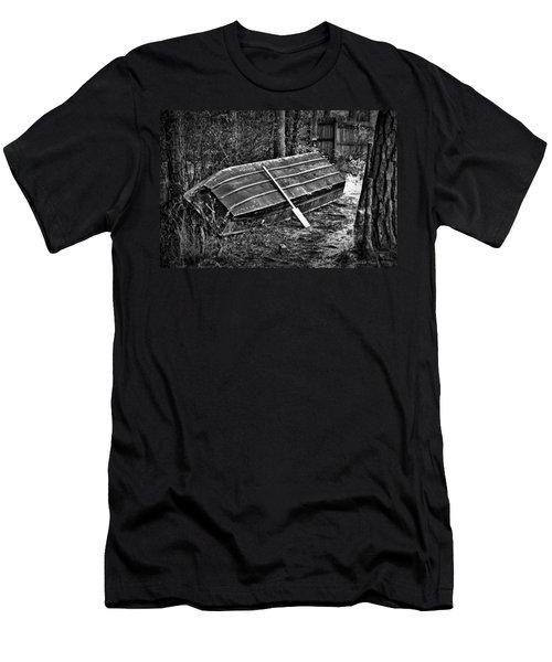 Abandoned Rowboat Men's T-Shirt (Slim Fit) by Tara Potts