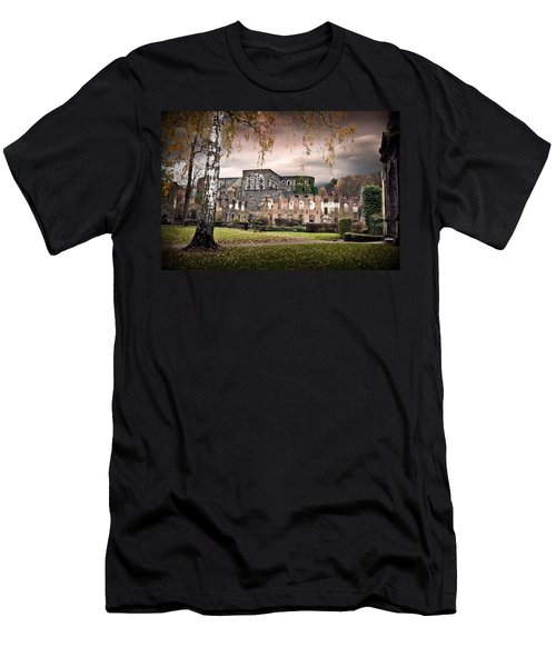 abbey ruins Villers la ville Belgium Men's T-Shirt (Athletic Fit)