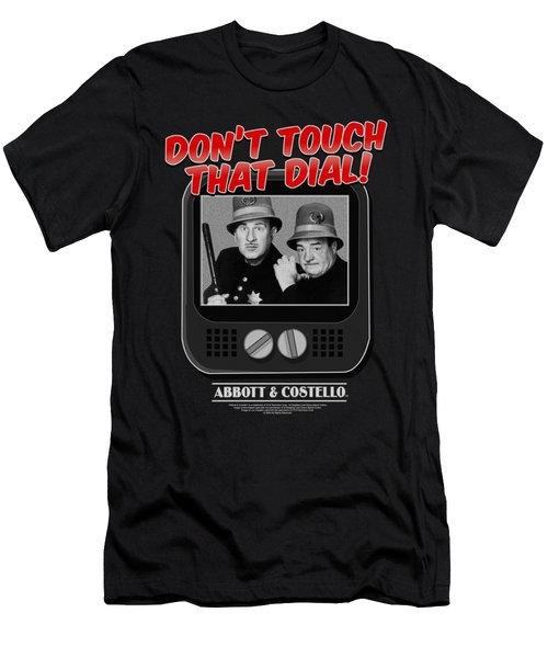 Abbott And Costello - That Dial Men's T-Shirt (Athletic Fit)